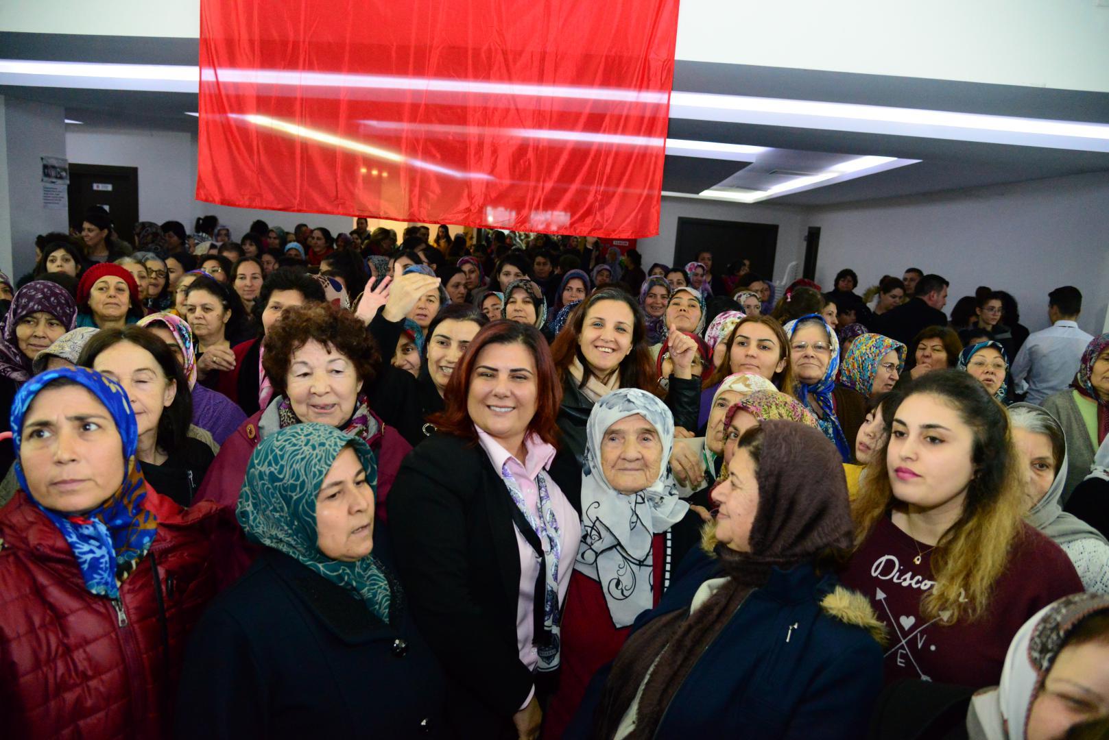 Çine Haberleri: Başkan Çerçioğlu, Çineli kadınlarla buluştu 76